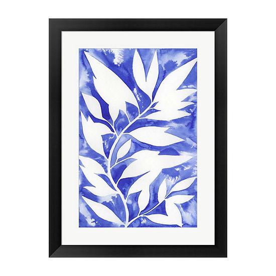 Metaverse Art Ink Blot Vine II Framed Wall Art