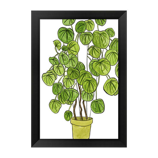 Metaverse Art Potted Jungle Ii Framed Wall Art