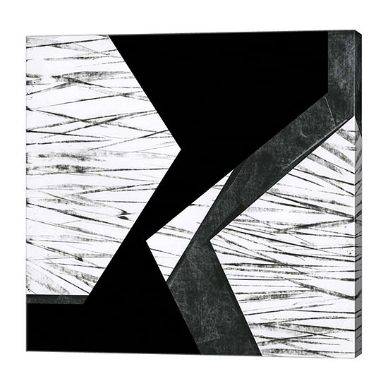 Metaverse Art Orchestrated Geometry VI Canvas Wall Art
