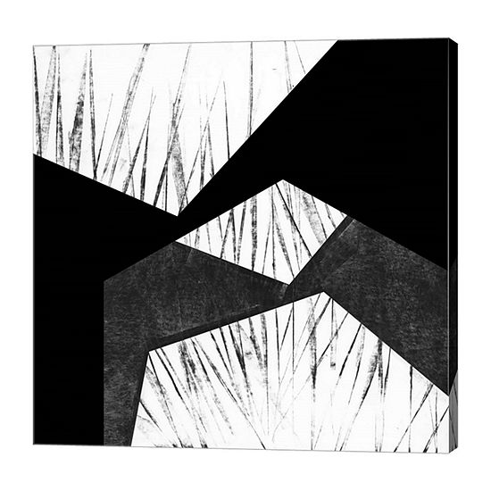 Metaverse Art Orchestrated Geometry VII Canvas Wall Art