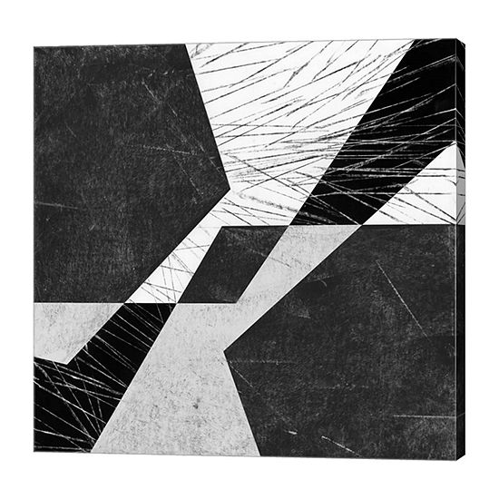 Metaverse Art Orchestrated Geometry VIII Canvas Wall Art