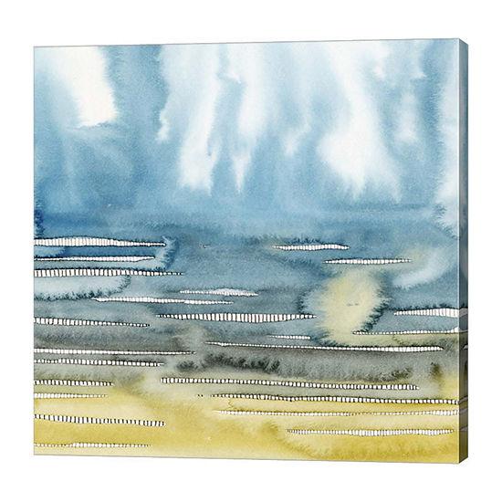 Metaverse Art Rising Vapors II Canvas Wall Art