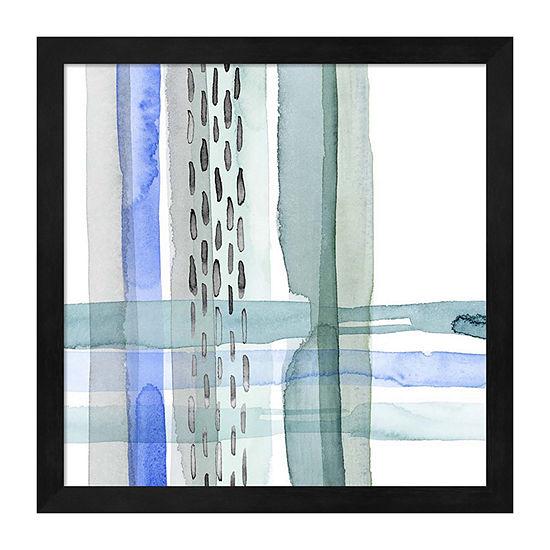 Metaverse Art Cross Stitch II Framed Wall Art