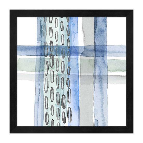 Metaverse Art Cross Stitch Iv Framed Wall Art