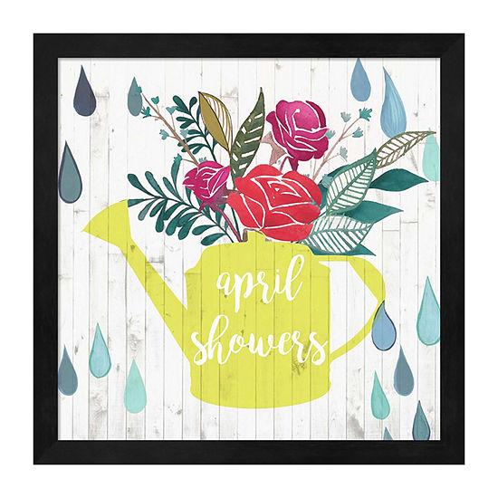 Metaverse Art April Showers & May Flowers I FramedWall Art
