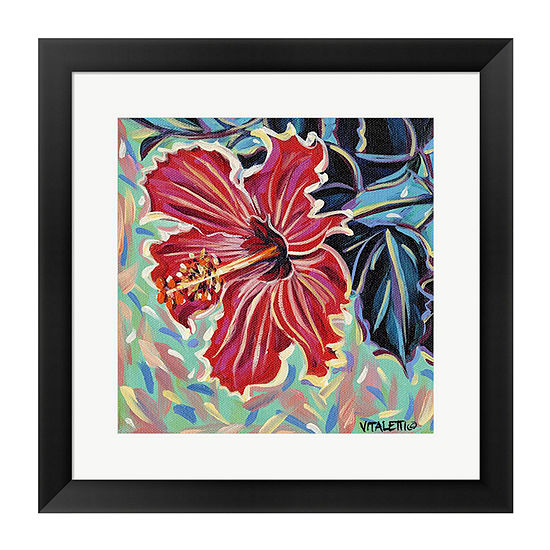 Metaverse Art Hawaiian Beauty Ii Framed Wall Art