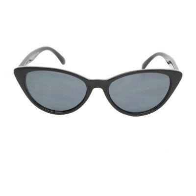 Fantas Eyes Womens I Spy Full Frame Cat Eye UV Protection Sunglasses