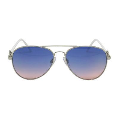 Fantas Eyes Womens Four Full Frame Aviator UV Protection Sunglasses