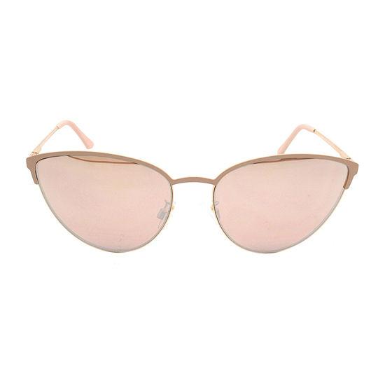 Fantas Eyes Womens Lilli Full Frame Cat Eye UV Protection Sunglasses