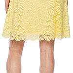 Ronni Nicole Sleeveless Lace Floral Fit & Flare Dress