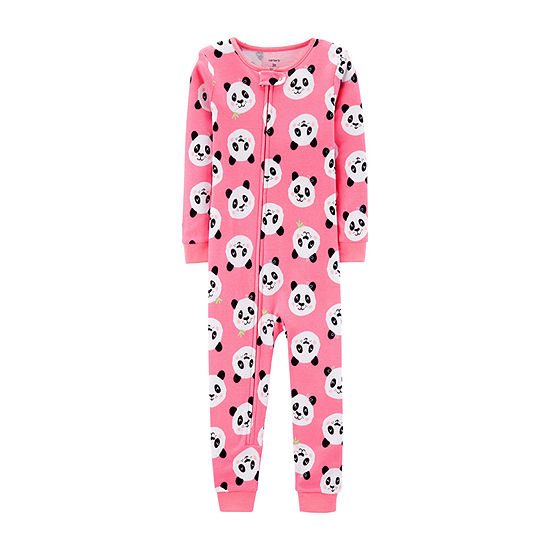 1980b776c Carter's Girls One Piece Pajama Long Sleeve - JCPenney