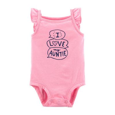 Carter's Slogan Bodysuit Girls