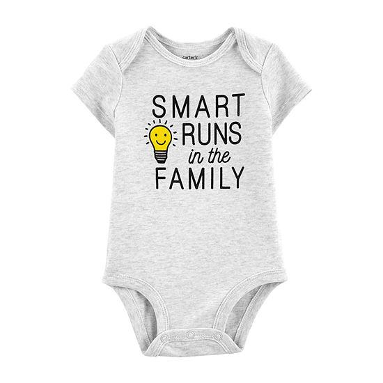 Carter's Slogan Bodysuit-Baby Boys