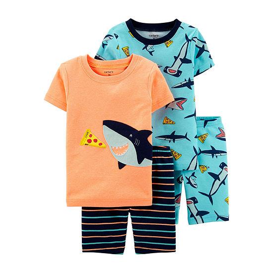 Carter's Snug Fit Cotton 4-pc. Pajama Set Baby Boys
