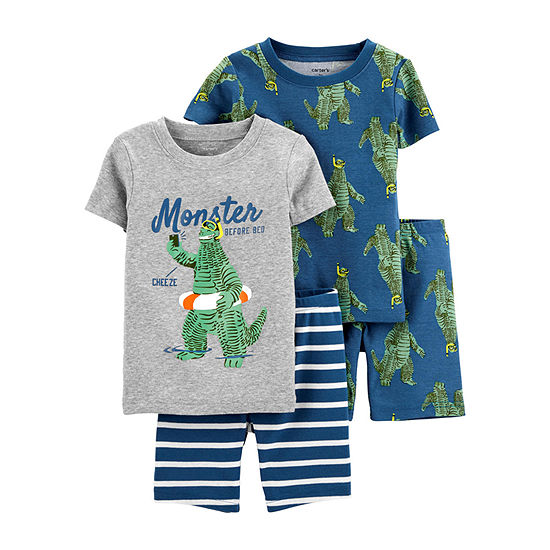 Carter's Snug Fit Cotton 4-pc. Pajama Set Baby Boys