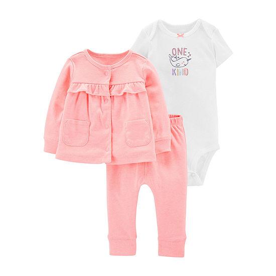 Carter's 3-pc. Baby Clothing Set-Baby Girls