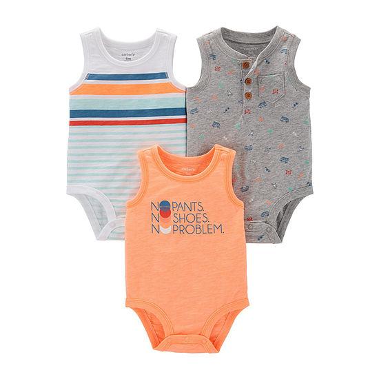 Carter's 3-Pk. Boys 3-pc. Bodysuit-Baby