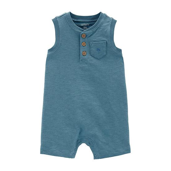 Carter's Boys Sleeveless Romper - Baby