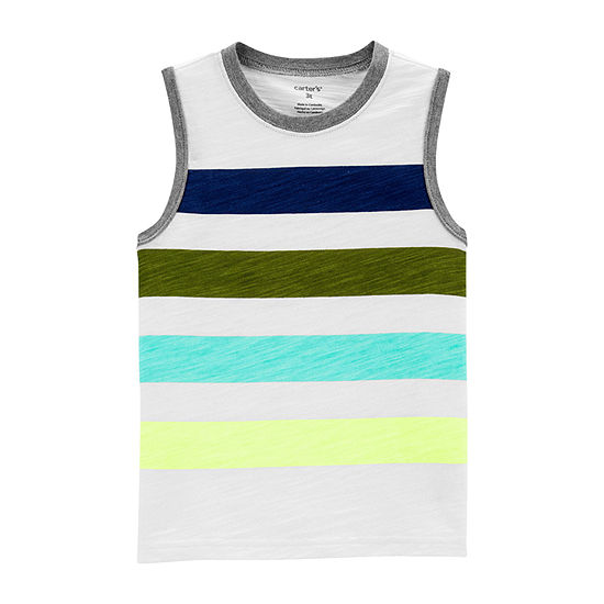 Carter's Boys Round Neck Tank Top - Baby