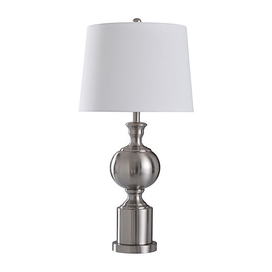 Stylecraft Transitional 15 W Steel Steel Table Lamp
