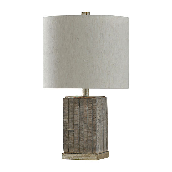 "Stylecraft 12.5"" W Moroni & Silver Polyresin Table Lamp"