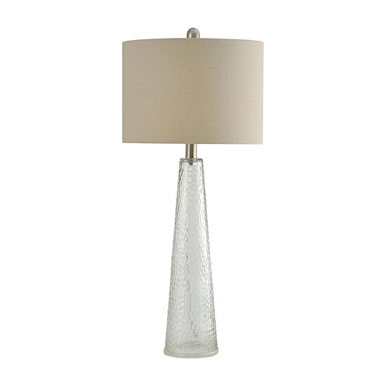 Stylecraft 12.5 W Clear Glass Table Lamp
