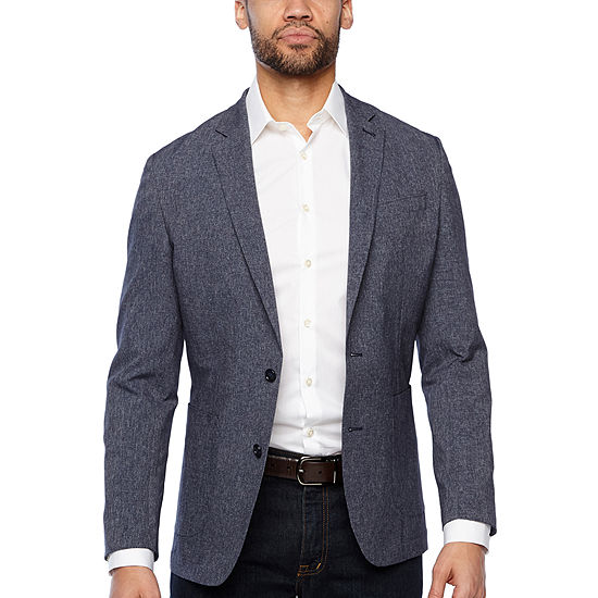 Stafford Mens Light and Cool Slim Fit Sport Coat