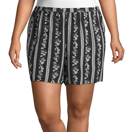 Arizona Womens Soft Short-Juniors Plus