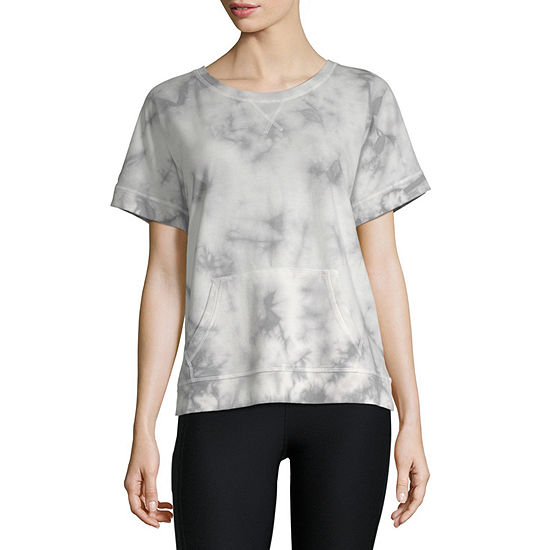 Xersion Dolman Short Sleeve Sweatshirt