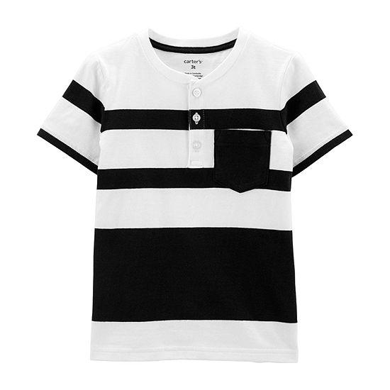 Carter's Boys Short Sleeve Henley Shirt - Baby