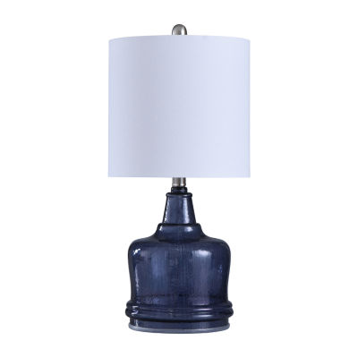 Stylecraft 10.5 W Ultra Violet Glass Table Lamp