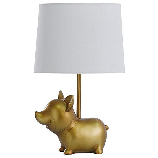 Stylecraft 10.5 W Gold Polyresin Table Lamp