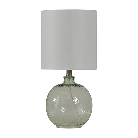 Stylecraft 9.5 W Clear Glass Table Lamp