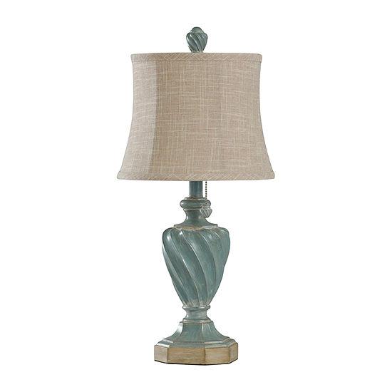 Stylecraft 11.5 W Multi Polyresin Table Lamp