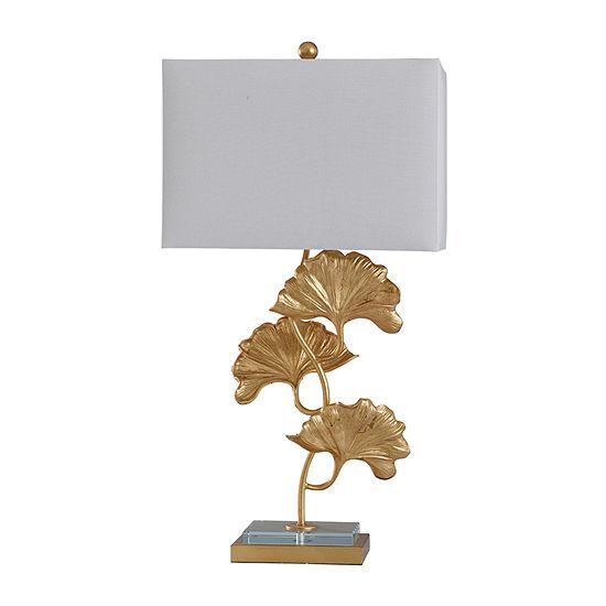 Stylecraft Buckingham 18 W Clear & Gold Iron Table Lamp
