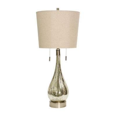 Stylecraft Fulda 15.5 W Mercury Glass Table Lamp
