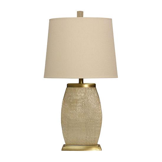 Stylecraft Saleya 16 W Cream Polyresin Table Lamp