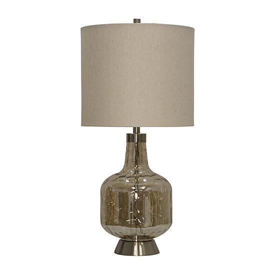 Stylecraft 15.5 W Majestic Glass Table Lamp