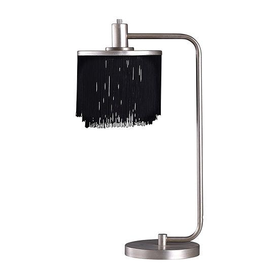 Stylecraft Imperial 13 W Silver Steel Table Lamp