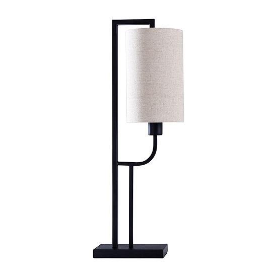 Stylecraft 7 W Black Steel Table Lamp