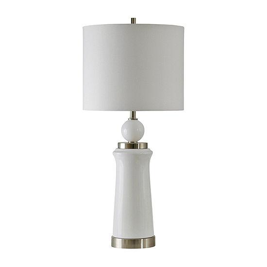 Stylecraft 17 W Bristow Steel Table Lamp
