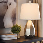 Stylecraft 14 W Silver Champagne Polyresin Table Lamp