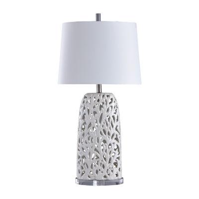 Stylecraft Anarita 16.5 W White Ceramic Table Lamp