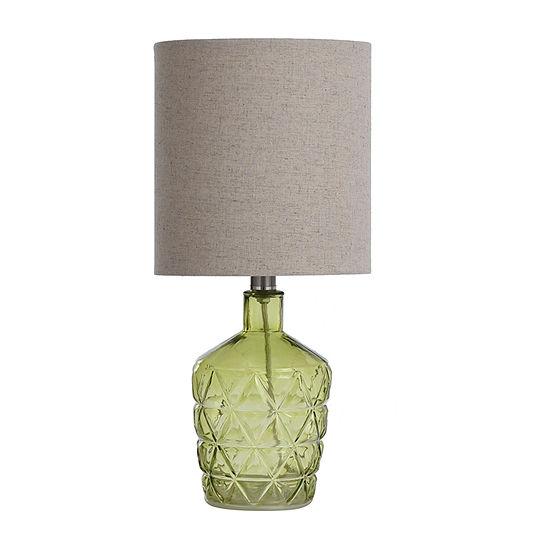 Stylecraft 8.5 W Grass Green Glass Table Lamp