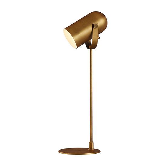Stylecraft 8.3 W Brass Steel Table Lamp
