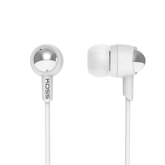 Koss Passive Noise Isolating In Ear Headphones With Microphone