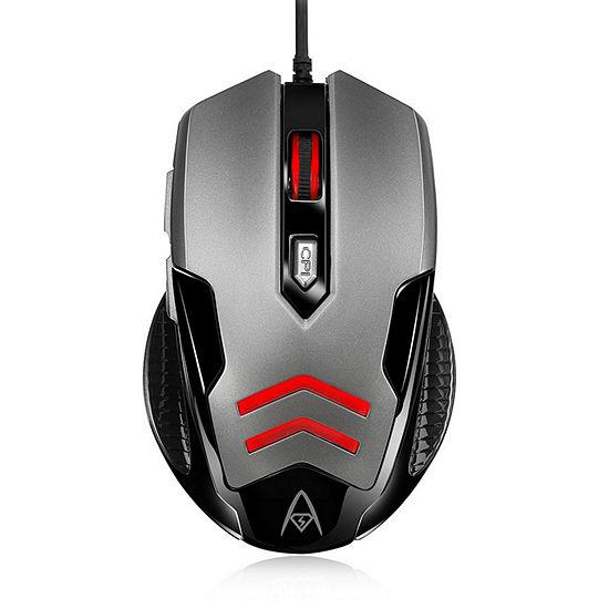 Adesso Multi Color 6 Button Gaming Mouse
