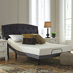 Signature Design by Ashley® Chime 10 Inch Memory Foam Queen Mattress + Adjustable Base