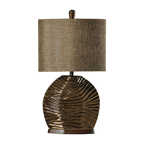 Stylecraft 18 W Gold Ceramic Table Lamp
