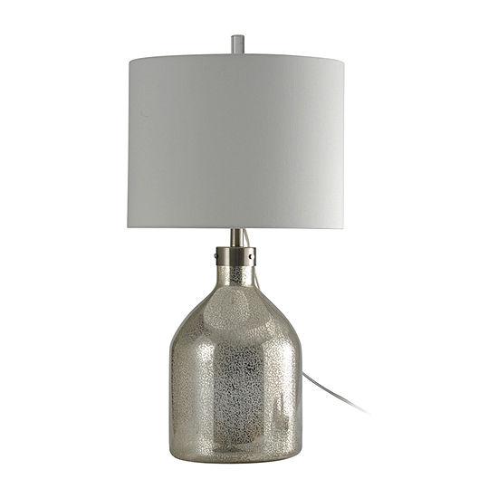 Stylecraft Northbay 15.5 W Mercury Glass Table Lamp
